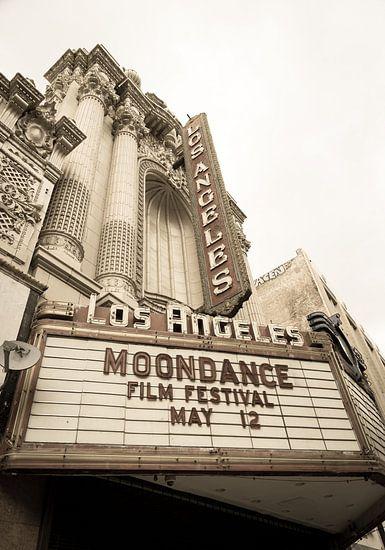 Los Angeles, theater op Broadway van Inge van den Brande