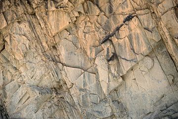Ruige rotswand  in de Himalaya van Affect Fotografie