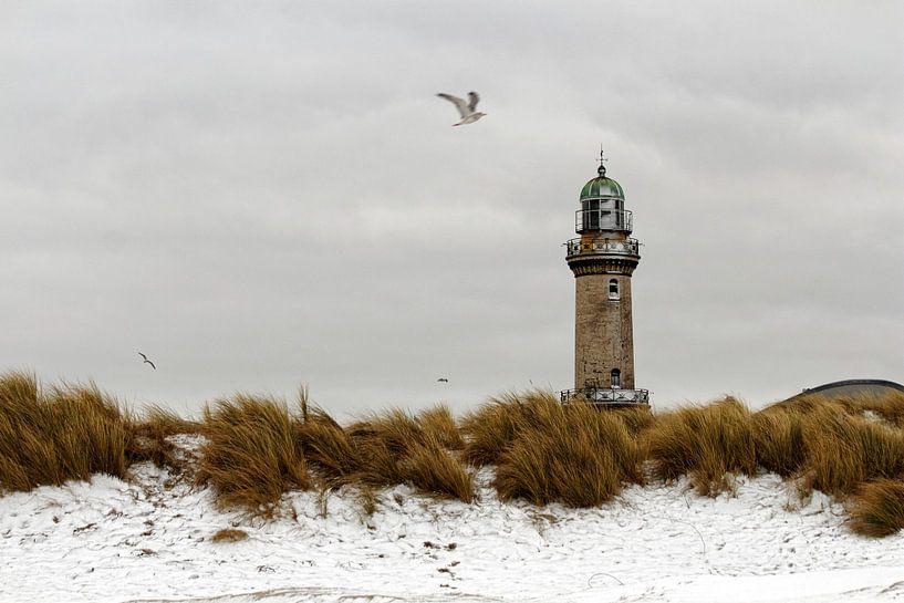 Winter in Warnemünde van Felix Lachmann