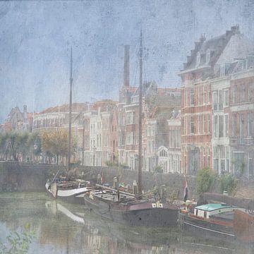 Het oude Rotterdam van Patrick Reinquin