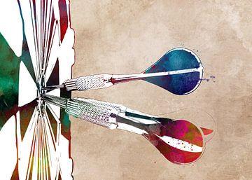 Darts Sport Kunst #Darts #Sport von JBJart Justyna Jaszke