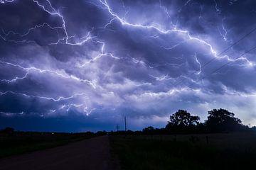 Blitz über Nebraska von Menno van der Haven