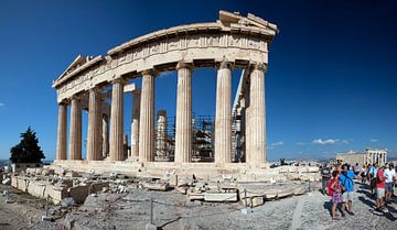Het Parthenon op de Akropolis van Arie Storm