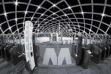 Spoorwegstation Den Haag van Patrick Lohmüller