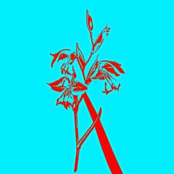 Flower one von PictureWork - Digital artist
