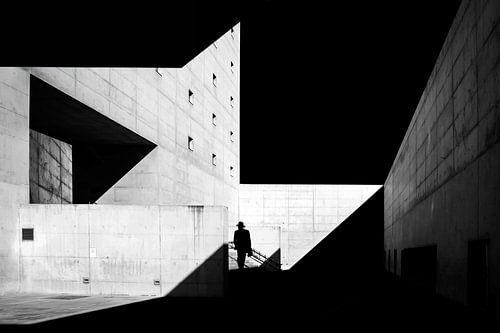 architectuur in zwart en wit