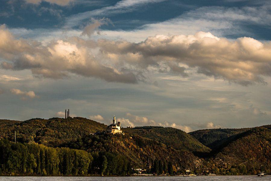 De Marksburg aan de Rijn