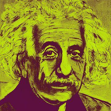 Albert Einstein E = mc2 van Kathleen Artist Fine Art