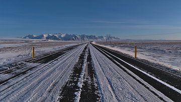Eisige Ringstraße von Timon Schneider