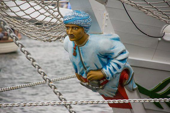 Boegbeeld van een Tall Ship
