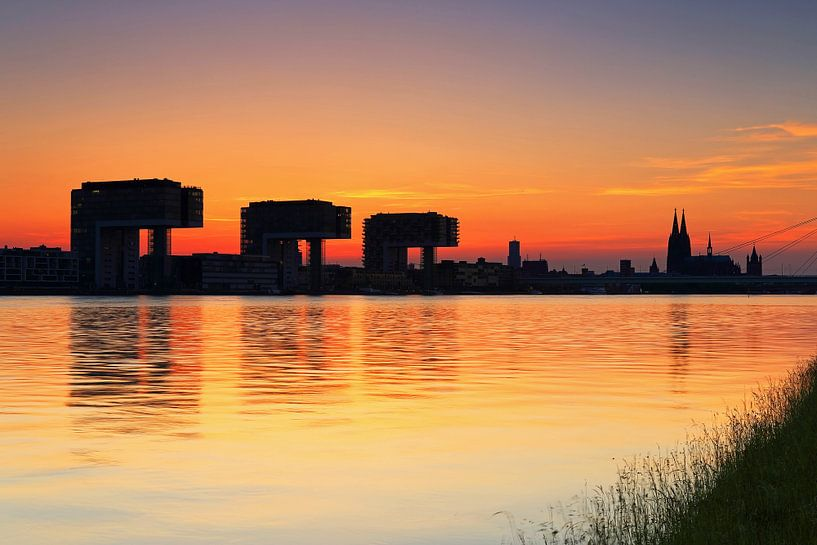 Keulse skyline van Frank Herrmann