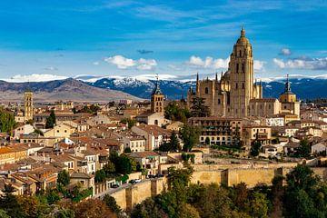 Segovia skyline van Sjors Gijsbers