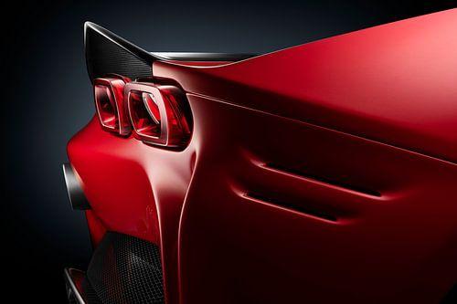Ferrari SF90 Stradale achterlicht