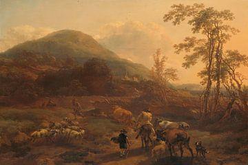 De Drie Droven, Nicolaes Berchem