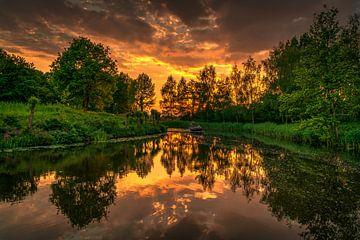 perfecte zonsondergang von Robin Pics (verliefd op Utrecht)