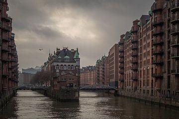 Elbschlösschen Hamburg Speicherstadt van Jürgen Schmittdiel Photography