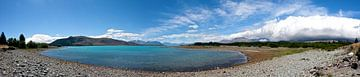 Panorama: Lake Tekapo van