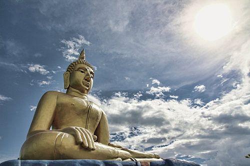 Beeld van een Boeddha van Gerrie Tollenaar