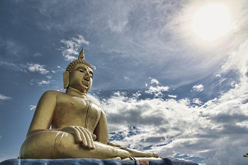 Beeld van een Boeddha van Atelier Liesjes