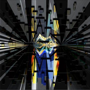 Lichtmomenten - geometrische lijnen en vormen van Christine Nöhmeier
