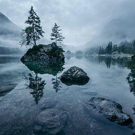 Mystical Hintersee in Bavaria van Oliver Henze