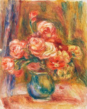 Vase mit Rosen, Renoir (ca. 1890-1900)