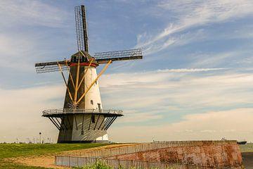 Moulin près de Vlissingen sur Age Meijer