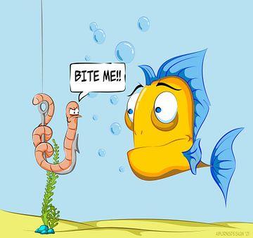 Unterwasser-Szene. von Andre Brands