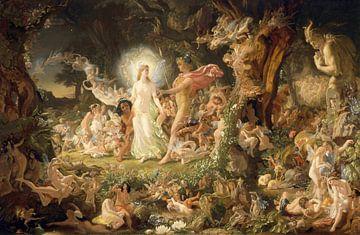 Der Streit zwischen Oberon und Titania, Joseph Noel Paton