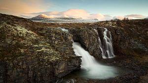 Storulfossen, Rondane Nationaal Park, Noorwegen