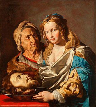 Salome mit dem Haupt von Johannes dem Täufer, Matthias Stom