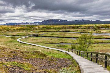 Þingvellir nationaal park van Easycopters