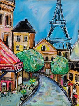 Parijs Evening II, Jeanette Vertentes van Wild Apple