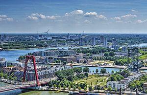Trois ponts à Rotterdam