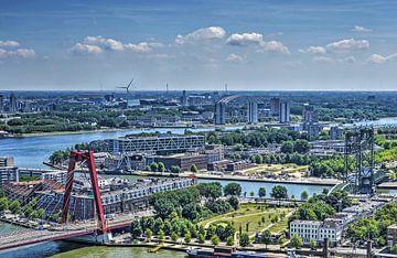Drei Rotterdamer Brücken von Frans Blok