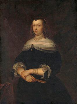 Portrait d'une femme, Jacob van Loo sur