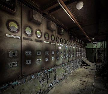 Ancienne centrale électrique sur Olivier Van Cauwelaert