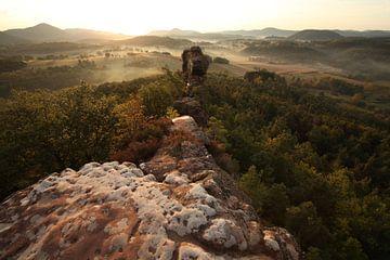 Geiersteine  im Pfälzer Wald von Jiri Viehmann