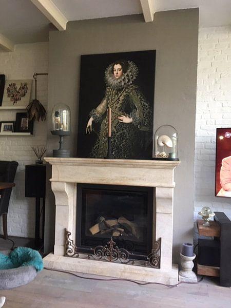 Kundenfoto: Königin Elizabeth von Bourbon von Diverse Meesters