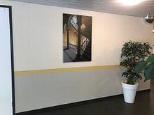 Klantfoto: De andere kant van Truus Nijland, op canvas