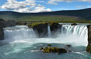 Godafoss waterval op Ijsland