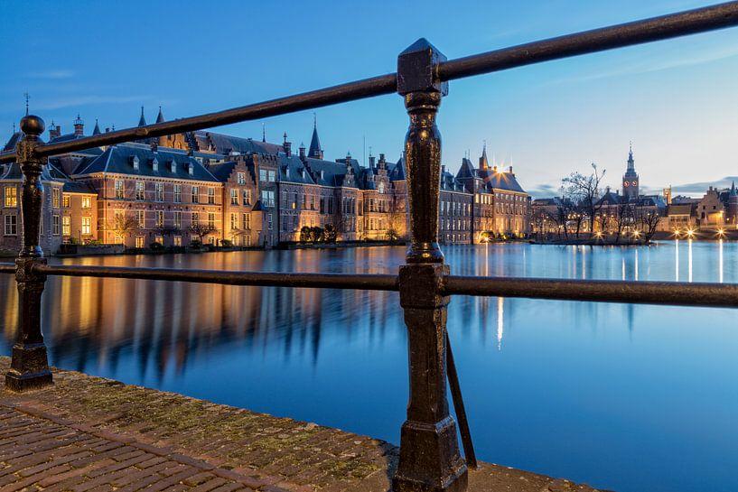 Regeringsgebouwen aan de Hofvijver, Den Haag van Miranda van Hulst