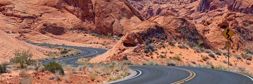 Country Road USA III van Melanie Viola