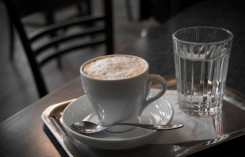 Namiddag in het café van Andreas Kilian