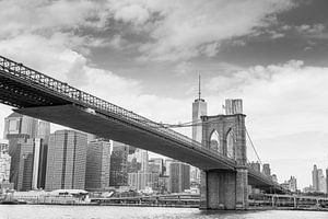 Brooklyn Bridge, New York van Carlos Charlez