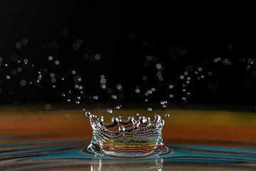 Water splash van Laurents ten Voorde