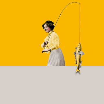 Things, Yellow and Grey van Marja van den Hurk