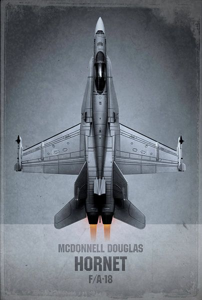 Straaljager - McDonnell Douglas Hornet van Stefan Witte