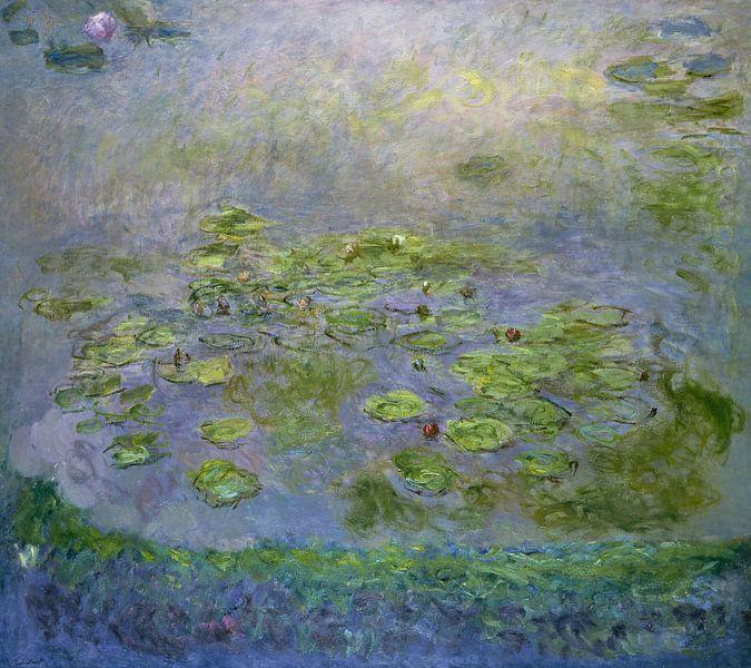 Waterlelies (Nymfea's), Claude Monet van Meesterlijcke Meesters