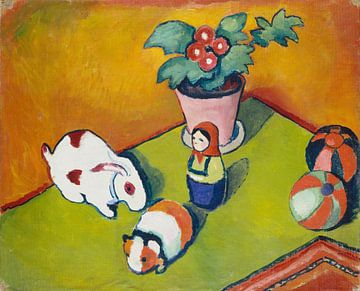 Little Walter's Toys, August Macke